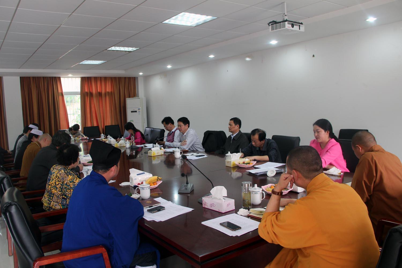 合肥市五大宗教联席会议在今日召开