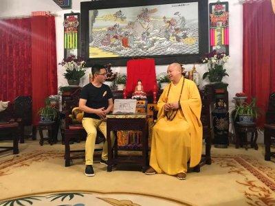百名高僧访谈:新禅风网采访开福禅寺方丈圆藏大和尚